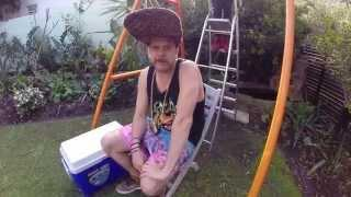 Jack Parow - Ice Bucket Challenge For ALS&MND Charity