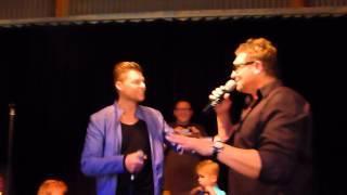 Kurt Darren&Colin Heikens (van Mike&Colin) ''Kaptein'' Live @Zomerfeest In Amersfoort!!