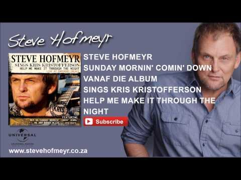 STEVE HOFMEYR - Sunday Morning Coming Down
