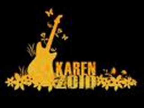 Karen Zoid Meisie Wat Haar Potlood Kou
