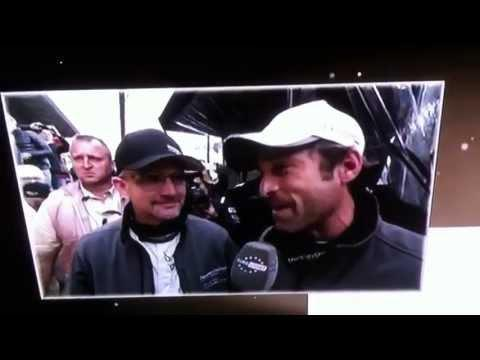 Patrick Dempsey And Joe Foster At The End Of Le Mans 2013