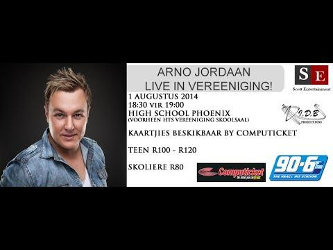 Arno Jordaan LIVE IN VEREENIGING