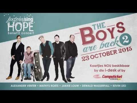 Expressing Hope Benefit Concert - Jakkie Louw Promo