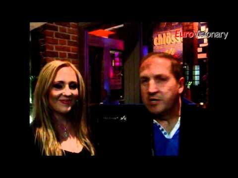 Eurovision Song Contest 2011 - Interviews With David Fourie And Jasmyn From South Africa