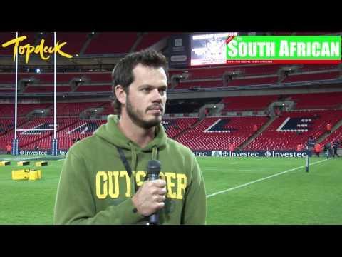 Bok Van Blerk Interview At Wembley
