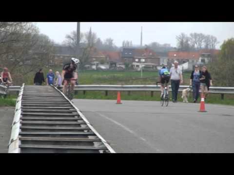 Team Stelvio (Dirk & Koen) Winnen De Duo-duathlon Van Geluwe 2014.