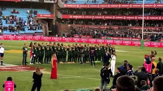 South African National Anthem by Bobby Van Jaarsveld & Lira - South African Youtuber