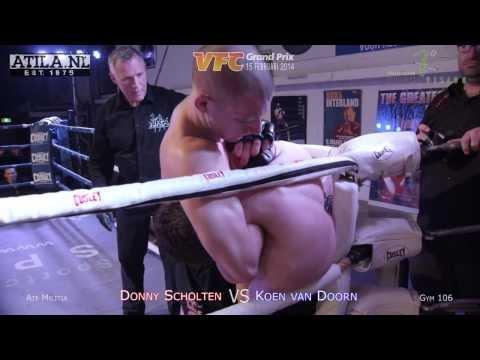 18 Donny Scholten   Koen Van Doorn   VFC6 14 Feb 2014