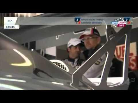 Patrick Dempsey And Joe Foster On Pit 1st Day Of Qualifyng Part2 At Le Mans 24h
