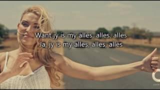 Bobby Van Jaarsveld  - My Alles (Lirieke)