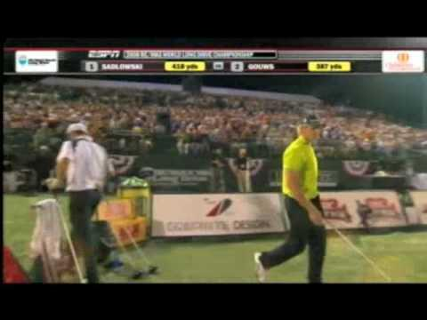 Jamie Sadlowski Vs Dewald Gouws Final Match 2008 RE/MAX World Long Drive Championship