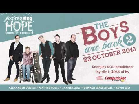 Expressing Hope Benefit Concert - Dewald Wasserfall Promo