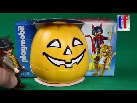 Playmobil Funny Unboxing W. Joe Foster, Playmobil 4770 Halloween Von 2005.