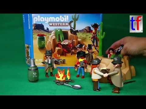 Playmobil 5250 Banditenversteck - Funny Unboxing W. Joe Foster, 2015.