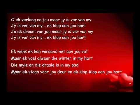 Nicholis Louw - Ek Klop Aan Jou Hart (Lyrics)