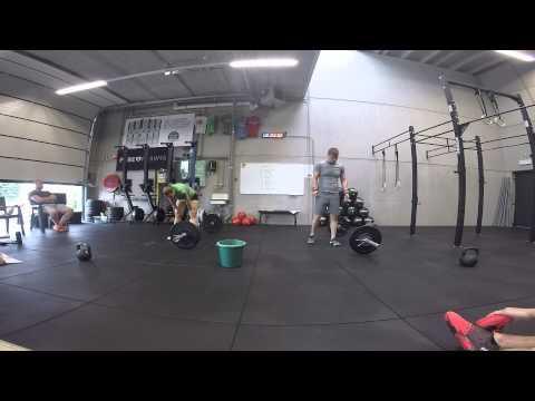 CrossFit Challenge Leuven - PETRI Iris/PETERS Koen - WOD1
