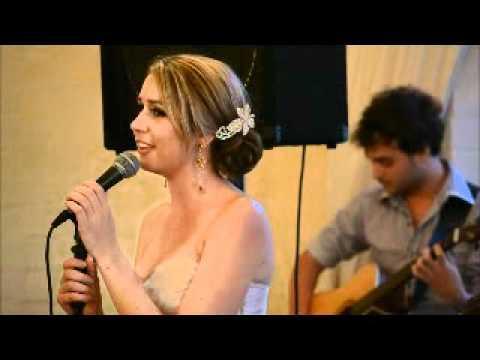 Anel & Albertus Wedding: Melissa Singing Dans By Riana Nel