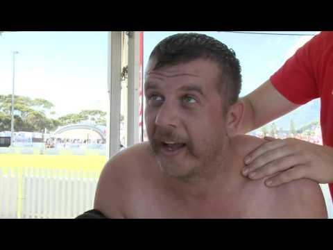 Jack Parow Interview At 2015  Cape Town 10s