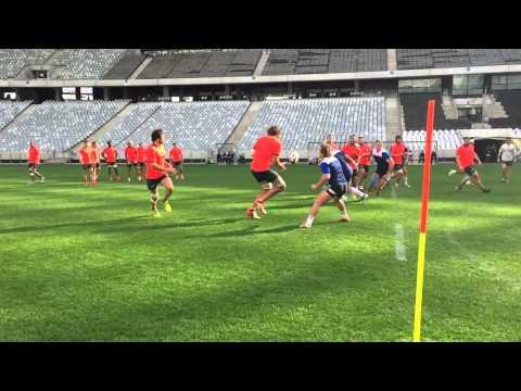 Western Province Rugby Academy - Training With The Springboks