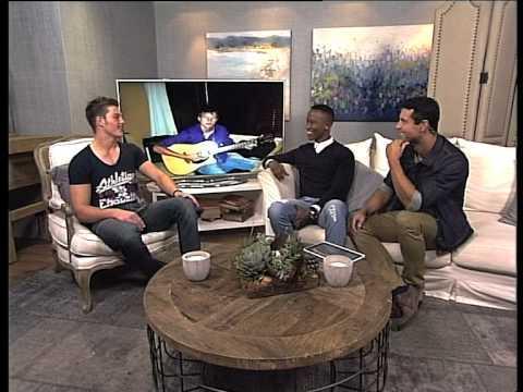 Hunky Brendan Peyper Chats To Kat & Ewan