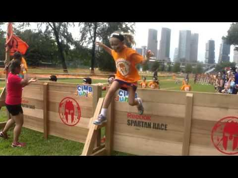 Spartan Race Junior Singapore 2015 Fouries