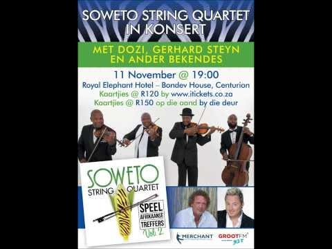 Soweto String Quartet In Konsert 11 Nov 2013