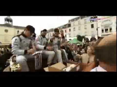 Patrick Dempsey , Patrick Long  And Joe Foster -Parade Des Pilotes   Le Mans (24 Minutes)